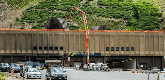 Johnson Tunnel featured project