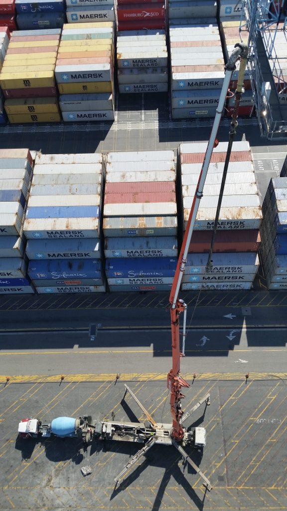 apm container terminal port of los contrete angeles - Brundage-bone